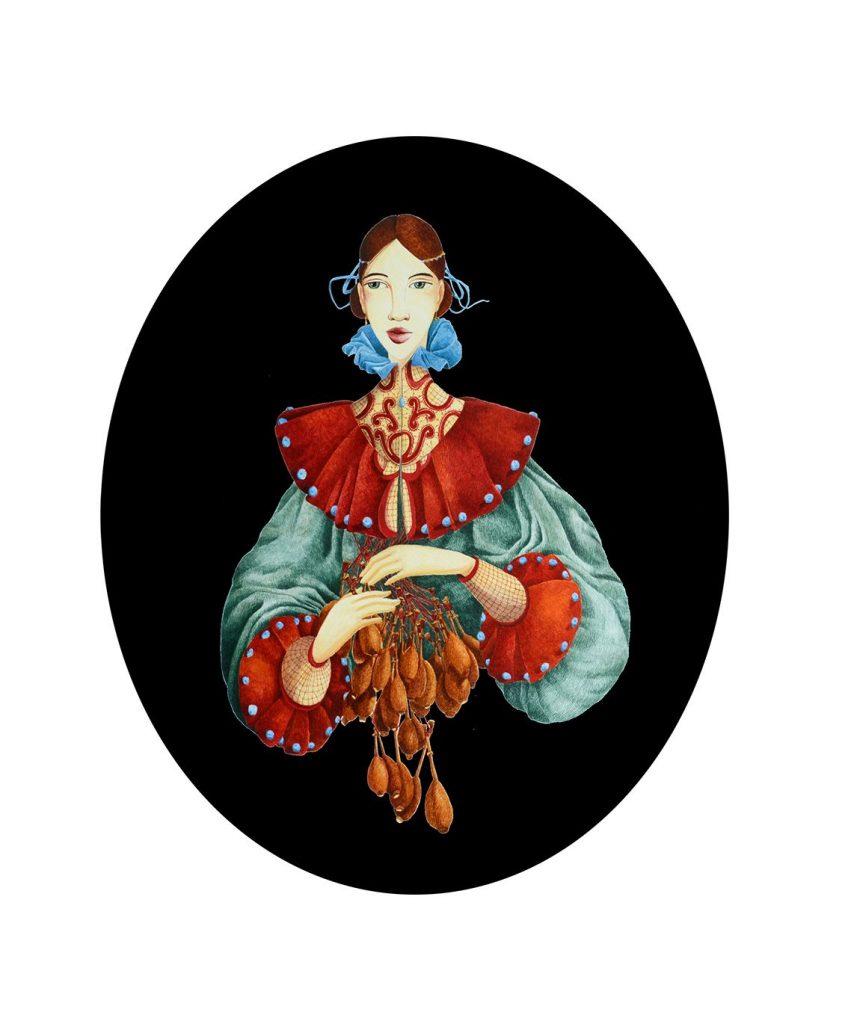 Dantelăreasa | Ilustrație de Sidonia Călin